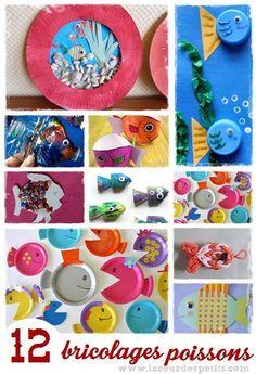 http://www.lacourdespetits.com/bricolage-poisson-1er-avril/ #poisson #avril #april #fish