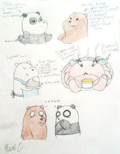 "From episode ""Emergency""~Finally Ice Bear got his REVENGE!!!*blown effect*  by XxMisery-SeverityxX.deviantart.com on @DeviantArt"