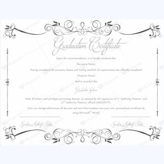 13 Best Graduation Certificate Templates images in 2016