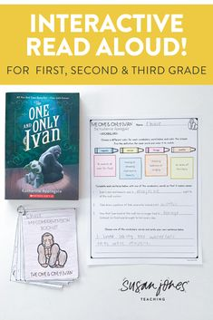 Want to read one favorite chapter books to your class and have tons of higher order thinking questions ready to go for you?! I did all the hard work for you! These questions and activities for The One and Only Ivan by Katherine Applegate are perfect for students in grades 1-3. Download the preview to check it out!