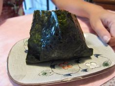 Onigiri - cream cheese and avocado Recipe