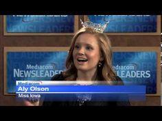 Aly Olson on Quad City News Miss Iowa, Quad Cities, News, City, Youtube, Cities, Youtubers, Youtube Movies