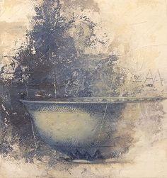 Allan Madsen Still Life Painting with Bowl