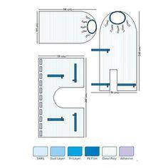 Disposable C-Arm Drapes and Different Size & Color etc....