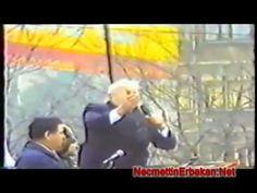 No 295 Prof  Dr  Necmettin ERBAKAN Filistinlilerle Dayanışma Mitingi İst...