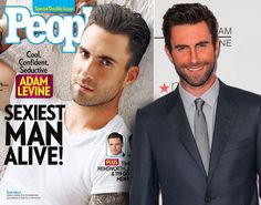 People magazine has named Adam Levine their Sexiest Man Alive for 2013. The 34-year-old singer and judge on 'The Voice' beat out other Hollywood hunks to win the illustrious title, which is shared by George Clooney, Channing Tatum and Brad Pitt. See his sexiest moments ...