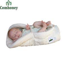 Cobertor do bebê Swaddle bebê recém-nascido saco de dormir de algodão do bebê de crianças de de(China (Mainland))