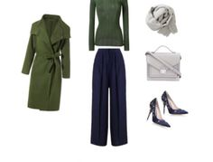 How To Wear Dark Olive For A Shaded Winter (Deep Winter)