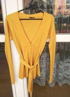 Kup mój przedmiot na #vintedpl http://www.vinted.pl/damska-odziez/kardigany/14283914-kardigan-zolty-greenpoint-idealny-na-wakacjelato