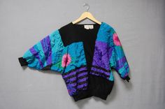 Fall Sale / 1980s Hipster Sweatshirt Bonnie by LittleGhostVintage