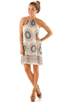 Get Your Shine On Dress: Multi