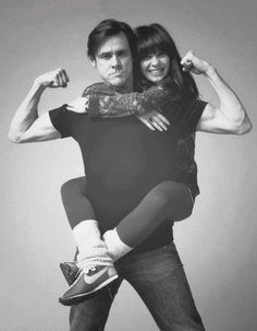 "Jim Carey Zooey Deschanel ""Yes Man"""