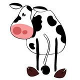 Funny Dairy Cow Face. - Download From Over 59 Million High Quality Stock Photos, Images, Vectors. Sign up for FREE today. Image: 14213465