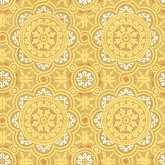 Piccadilly Yellow  wallpaper by Cole & Son