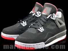 0e4112ec2d29 The Air Jordan 4 GS Black Cement Grey gives us our first look at arguably  the most anticipated release of Black suede benefits from grey and red  accents on ...