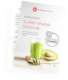 Groente smoothie dieet - hoe ik kilo af viel in één week* Broccoli Smoothie, Avocado Smoothie, Detox Week, Smoothie Detox, Detox Plan, Breakfast Smoothies, Cheesecake, Milkshake, Stevia
