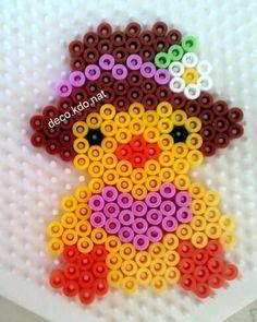 Pulcino Hama beads