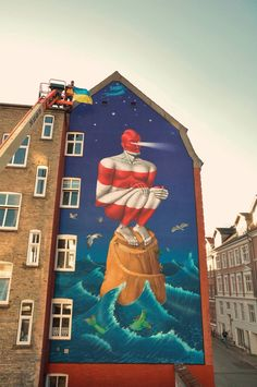 "by AEC Interest Kazki - ""Lighthouse"" - For Weaart - Aalborg, Denmark - 09.09.2014"