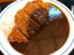 Japanese Curry, Japanese Food, Tonkatsu, Curry Recipes, Korean Food, International Recipes, Tasty Dishes, Junk Food, Food Photo