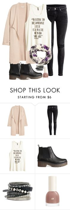 """""""h&m"""" by purplicious ❤ liked on Polyvore featuring Kofta, H&M, women's clothing, women, female, woman, misses and juniors"""