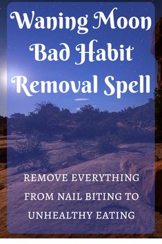 Waning Moon Bad Habit Remover spell - this simple spell will help you say goodbye to bad habits for good! Moon Spells, Magick Spells, Witchcraft, Luck Spells, Healing Spells, Moon Witch, Witch Spell, Astrology Chart, Astrology Numerology