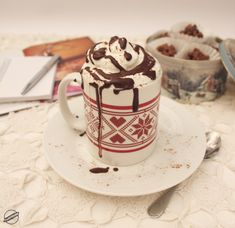 Yummy Drinks, Smoothies, Beverages, Food And Drink, Mugs, Chocolate, Coffee, Tableware, Party