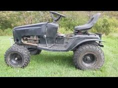 How To Build Off Road Mud Mower (Part 2) - YouTube