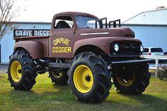 Monster Truck - Grave Digger