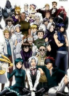 D.Gray-Man ~ all look at them all!!! I love... well MOST of them *Stares at Leverrier*