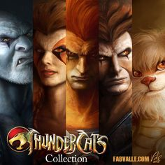 ThunderCats Collection by Fabvalle on DeviantArt - Christophorus Hodgen Cartoon Cartoon, Morning Cartoon, Comic Book Characters, Comic Books Art, Comic Art, Thundercats Characters, Old School Cartoons, Comic Games, Classic Cartoons