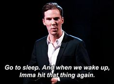 when your alarm clock goes off and you hit the snooze button...