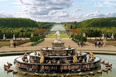Palace of Versailles.  I did a tour of the place and a bike tour of the grounds.  Amazing!!!!