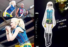 Gwen Stefani style Gwen Stefani Style, Princess Zelda, Fictional Characters, Fantasy Characters