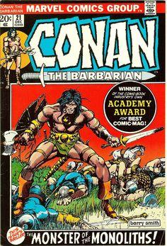 Conan the Barbarian #21 (1972) VF- 7.5