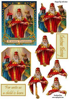 crealolo - Page 123 Decoupage Vintage, Decoupage Paper, Christmas Decoupage, 3d Christmas, Christmas Ornaments, 3d Sheets, Step Cards, 3d Cards, 3d Prints
