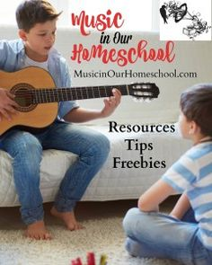 Music in Our Homeschool - a website that provides resources, tips, and freebies to help you include music in your homeschool