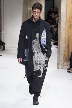 Yohji Yamamoto Autumn/Winter 2017 Menswear Collection | British Vogue