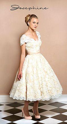 tea length wedding dresses stephanie james couture