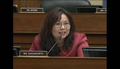 U.S Rep. Tammy Duckworth