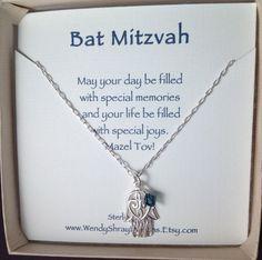 Bar Mitzvah gift Bat Mitzvah Hanukkah gift by WendyShrayDesigns Bat Mitzvah Gifts, Hanukkah Gifts,