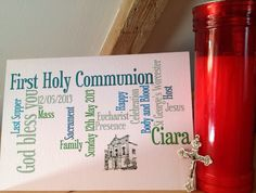 Hey, I found this really awesome Etsy listing at https://www.etsy.com/listing/150605253/first-holy-communion-card