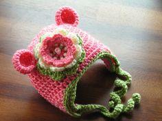 Baby hat for infants in newborn to 18 month children hat -Maddie. $13.95, via Etsy.