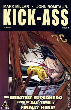 kick ass comic books covers   Kick-Ass (2008) #1A