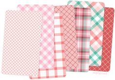 The other day, I created six plaid patterns for my Colour Lover post. And yet, even after the post was published, I couldn't stop tinkering with the web application I used to create these patterns. Tartan Maker is a wonderful (and addicting) resource, brought to us by the same folks who created Stripe Generator. With Tartan Maker, you can create any plaid from 2 to 10 color bands of varying widths and you're not restricted to creating just plaid — you can make gingham FREE more colors!!!