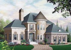 Elevación del Plan Casa Victoriana 65354