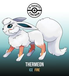 Thermeon (Ice/Fire) On rare occasion, an Eevee can be affected by more than one environmental factor, and reacts to grow into a new, rare evolution. An Ice/Fire type Eeveelution, dubbed. Pokemon Rare, Mega Pokemon, Pokemon Comics, Pokemon Memes, Pokemon Stuff, Pokemon Fusion Art, Pokemon Fan Art, Mega Evolution, Pokemon Original