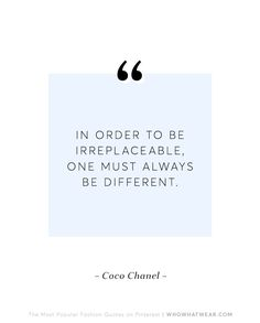 The 10 Most Popular Fashion Quotes on Pinterest