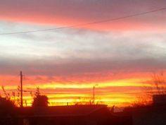 A Sun Setting Upon Las Vegas, NV
