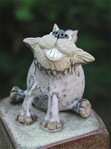 Animal Jar | hand-made pottery from Muggins Pottery in Leicestershire - wedding gifts, birthday presents, christening presents and anniversary gifts.