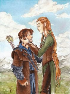 Kiliel - the height difference :)